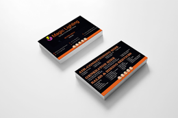 Magic Lighting Business Card